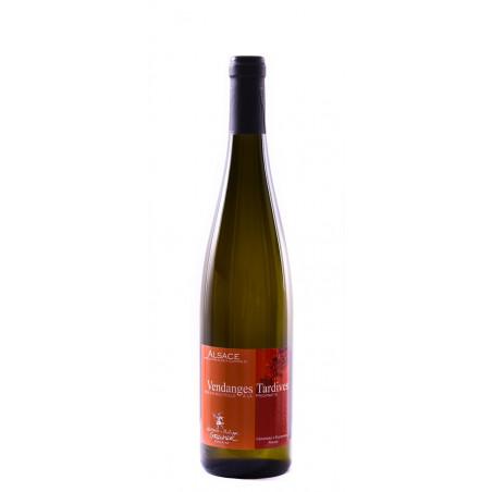Vin d'Alsace Gewurztraminer Vendanges Tardives bio Domaine Laurence et Philippe Greiner Riquewihr