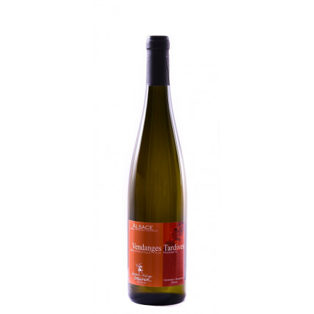 Vin d'Alsace Pinot Gris Vendanges Tardives bio Domaine Laurence et Philippe Greiner Riquewihr