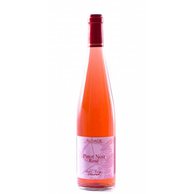 Pinot Noir Rosé Bio Domaine Greiner Riquewihr